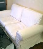 白いソファ